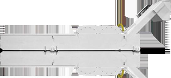 Convogliatore con filtro autopulente